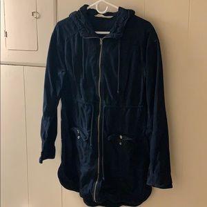 Jackets & Blazers - Light Jacket- navy blue canvas